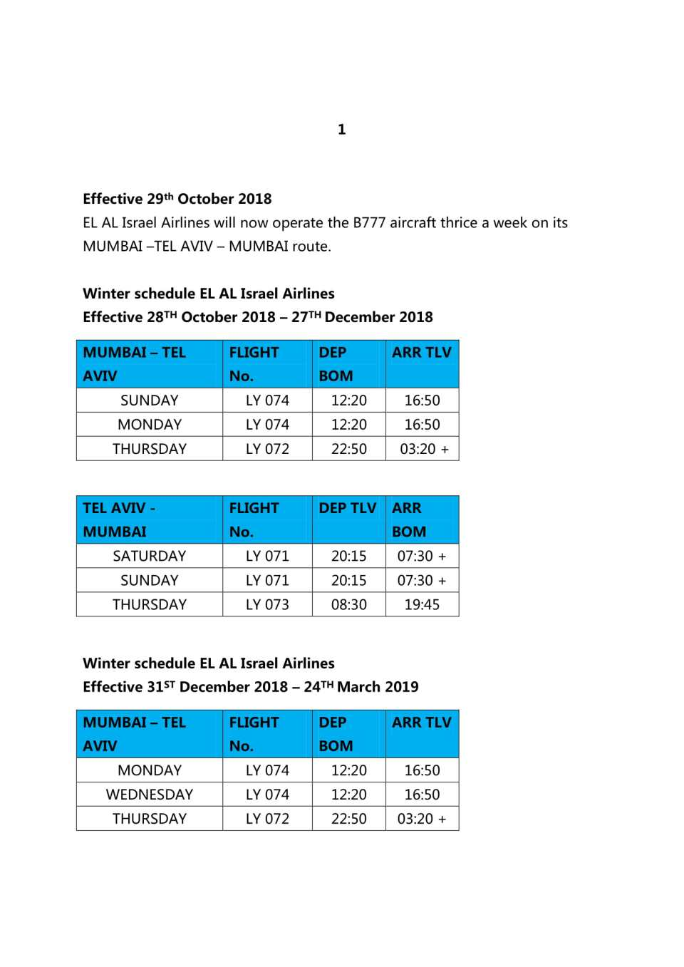 WINTER SKED - FARES 2018-19-1